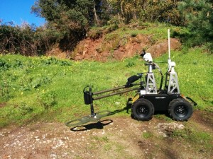 Coimbra's Mine Detection Robot