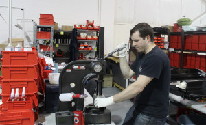Matt's in the shop working on an alpha build