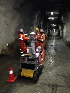 U Chile Mining Husky