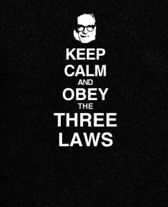 Keep Calm with 3 Laws