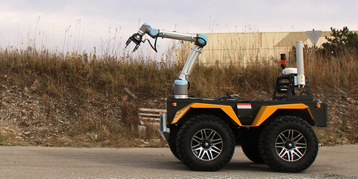 Grizzly and Husky Get a Helping Hand - Clearpath Robotics
