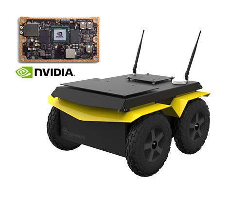 Jackal UGV - Small Weatherproof Robot - Clearpath
