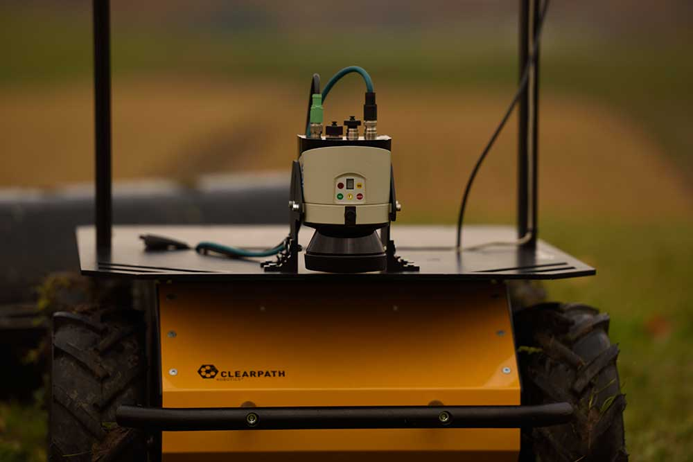 Husky UGV - Outdoor Field Research Robot by Clearpath