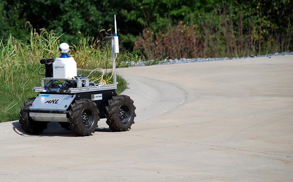 Husky autonomous outdoor navigation system